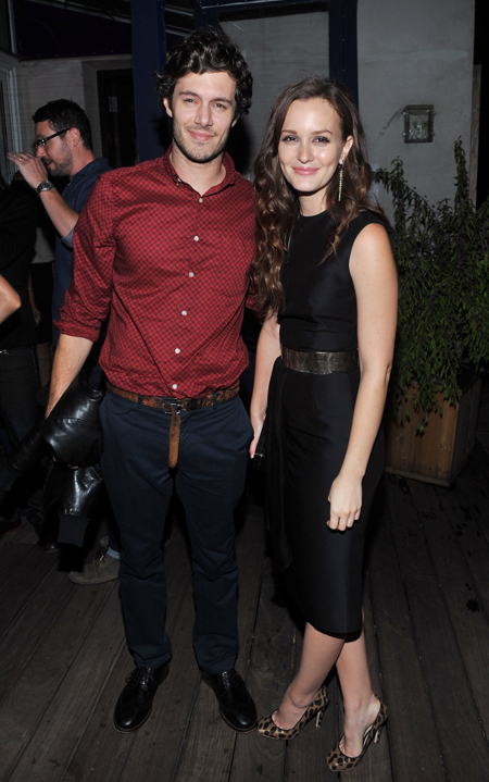 Leighton Meester and Adam Brody engaged