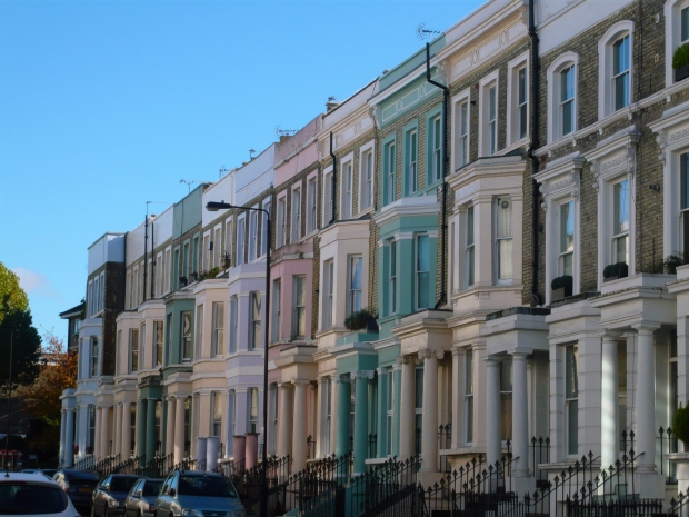 London City Guide: Notting Hill Houses