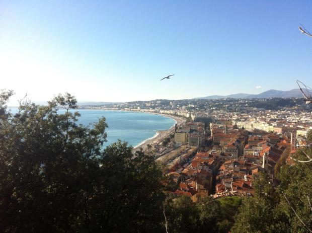 Chateau de Nice view