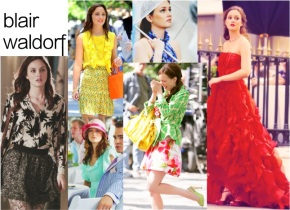 Blair Waldorf Gossip Girl Wardrobe