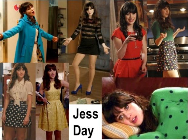 Jessica Day Wardrobe
