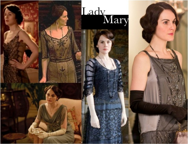Lady Mary Crawley Downto Abbey Wardrobe