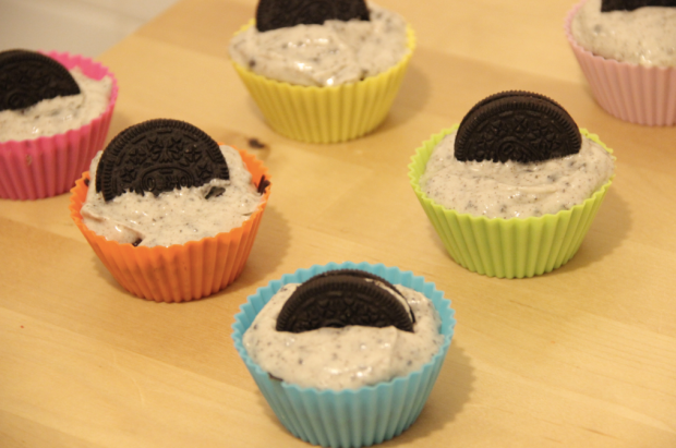 Oreo Cupcake and Cream Cheese Frosting Recipe