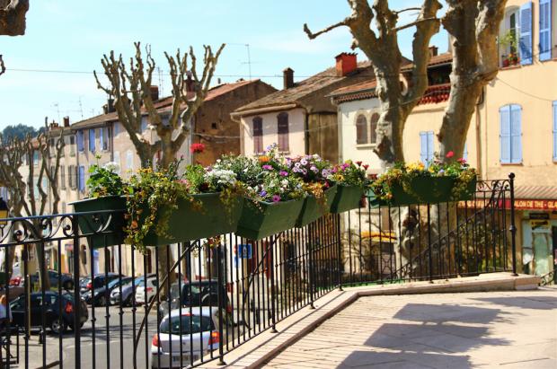 Lorgues Village Centre