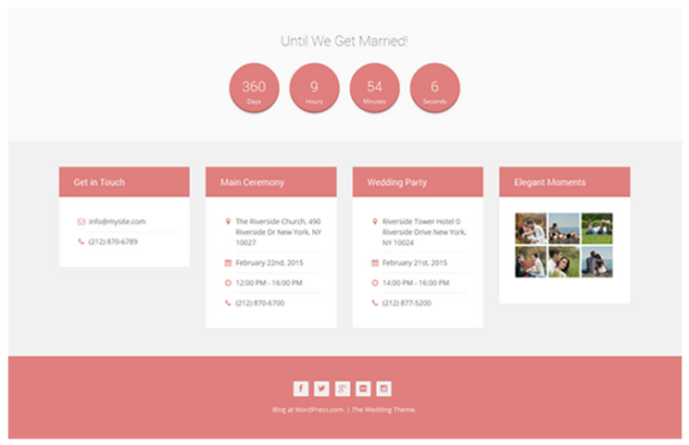 20 Tips for Building Your Wedding Website 2