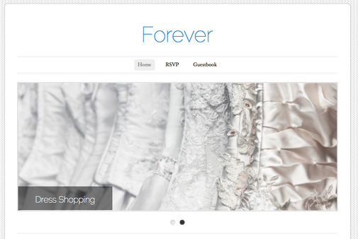 20 Tips for Building Your Wedding Website 3