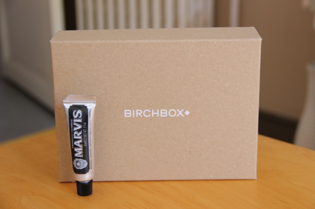 April Birchbox Marvis Toothpaste
