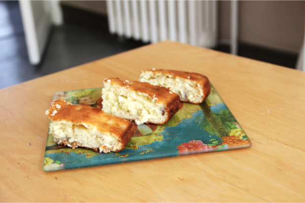 Banana & Honey Cake