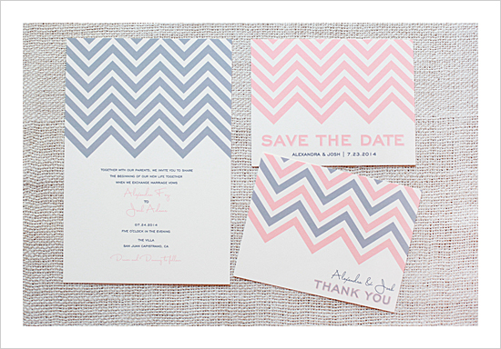 Wedding Invitations - The Wedding Chicks