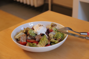 Easy Egg and Chicken Dinner Salad