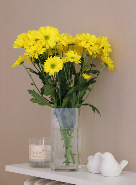 How to Put Fresh Flowers in a Vase 6