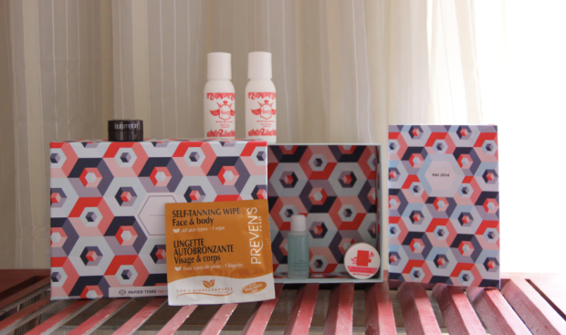 May Birchbox FR Contents Papier Tigre