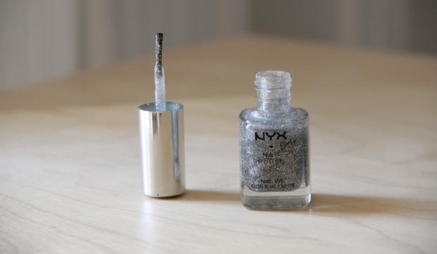 May Favorites NYX Sparkles Glitter Nail Polish