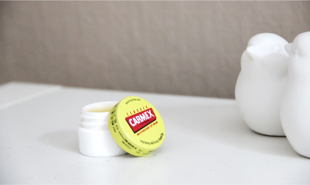 My Morning Routine Carmex Lip Balm