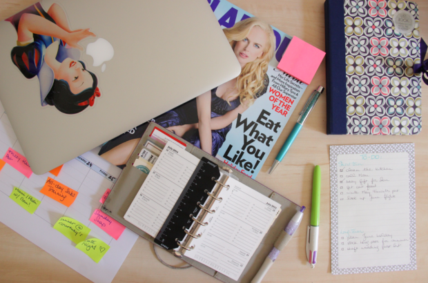 Staying Organised - All my organisation things