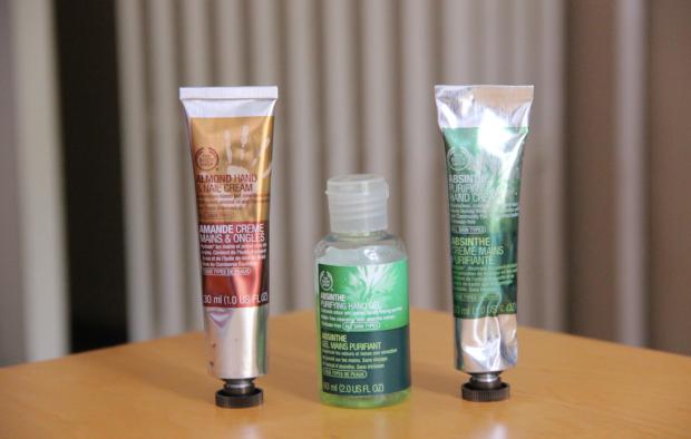 The Body Shop Almond Hand Cream Absinthe Hand Cream Absinthe Hand Gel