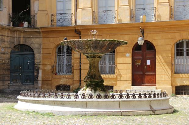 Aix en Provence Place Albertas Fontaine