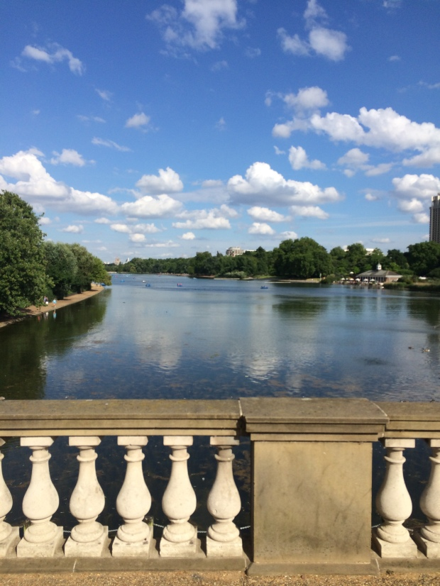 London Hyde Park Serpentine