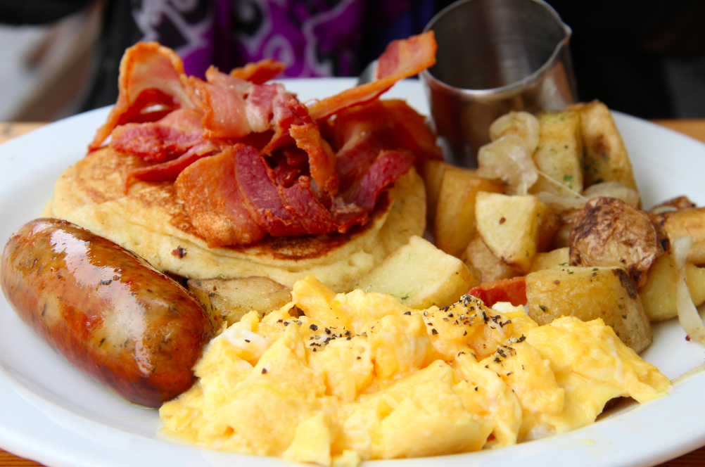 A london foodie favorite the breakfast club the london for American cuisine in london