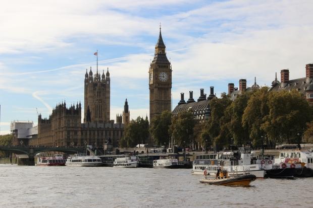 Big Ben Westminster River