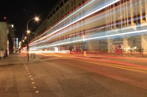 London at Night Victoria Street
