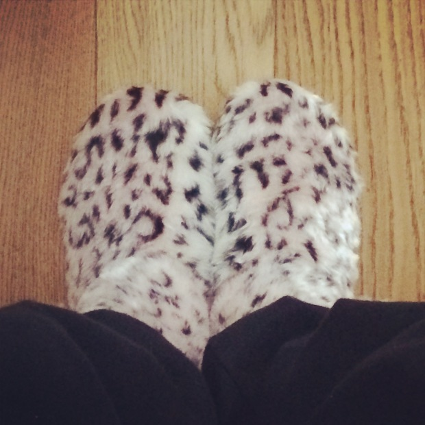 New Look Furry Slippers